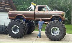 jacked up chevy trucks pictures Big Ford Trucks, 1979 Ford Truck, Classic Ford Trucks, Ford 4x4, Lifted Ford Trucks, 4x4 Trucks, Cool Trucks, Chevy 4x4, Tow Truck