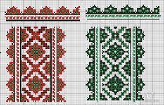 Gallery.ru / Фото #77 - узори - LLLiudochka Folk Embroidery, Embroidery Patterns, Cross Stitch Patterns, Old World, Needlework, Bohemian Rug, Quilts, Ornaments, Blanket