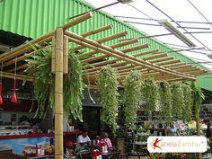 Pergolados em Bambu   Kanela Bambu