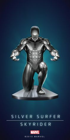 Silver Surfer ... Marvel Puzzle Quest °°