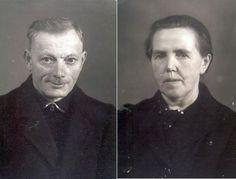 Grootouders Piet Wijnen en Theadora Sauvè