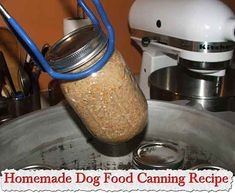 Homemade Dog Food Canning Recipe Homemade Dog Food Canning Recipe If you can your own food and have dogs either for working or as pets you should try this recipe and start canning your own
