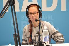 Stefanie Heinzmann war ebenfalls zu Gast an unserem Berufswahlradio.ch-Stand!