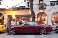 Red drophead