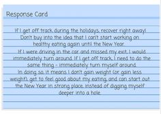 Response Card - I have to do things the way I've always done them or someone will be disappointed. (1)