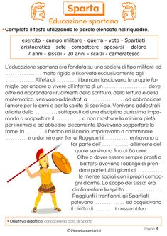 Educazione militare spartana Italian Language, Problem Solving, Bedtime, Learning, School, Geography, Classic Literature, Learning Italian, Greece