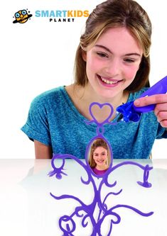 The 3D Drawing Pen is going to blow your children's minds! This insanely cool innovation in 3D art allows you to draw vertically by drawing upwards from the drawing base. #toycollection #toystagram #montessori #education #openendedplay #learning #imaginativeplay #artandcraft #stemtoys #puzzle#sixyearoldtoys
