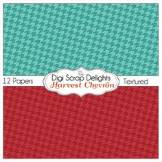 50% OFF TODAY Autumn Chevron Digital Papers by DigiScrapDelights  #Scrapbooking #Autumn #Fall #Scrapbookingkits #DigiScrapDelights #Chevron