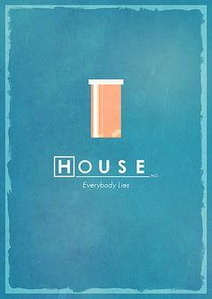 House - Minimalist Poster
