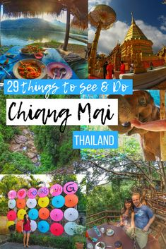 Chiang Mai Thailand things to do - A full guide for your travels to this northern city in Thailand. A full bucket list of what to do as well as some travel tips. Don't miss out on some unique and fun adventures! See the full article here: https://togethertowherever.com/what-to-see-do-chiang-mai/ #Chiangmai #Thailand #ChiangMaiThingsToDo #chiangmaiguide #thailandtravel