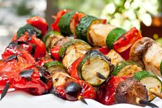 Can't take dad out on the open waters this year? Bring the fresh fish to him with these swordfish kabobs brushed with Extravagonzo Meyer Lemon Infused Oil. Get the recipe! Veggie Recipes, Fish Recipes, Gourmet Recipes, Salad Recipes, Healthy Recipes, Drink Recipes, Healthy Eats, Healthy Foods, Yummy Recipes