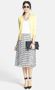 a2dd6c99b3df44 Best skirt midi cardigans Ideas #skirt Midi Skirt Outfit, Pleated Midi  Skirt, Skirt
