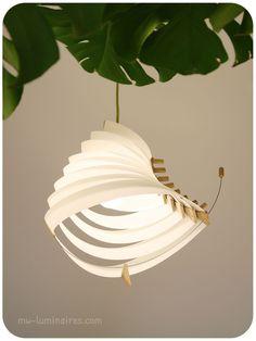 D Co Design Lustre Fil De Fer Papier Creation Piece Unique Lustre Envol Bricolage