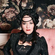 Gothic-Halskorsett Faustyna