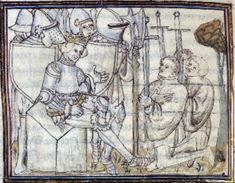 Manuscript: Valenciennes BM MS.637 Grandes Chroniques de France Dating: 1405 From:Paris, France