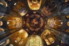 S.Vitale #Ravenna #mosaics #Dome #cupola #basilica #Unesco #Italy #Nikon #Samyang #8mm #fisheye #RiccardoCuppini