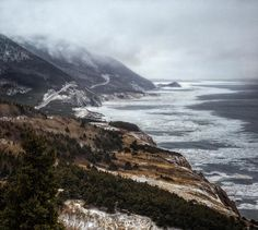 Winter on the Cabot Trail.