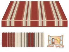 Tende da sole Tempotest Fantasia Marrone 968/426
