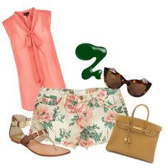 Summer Casual, created by mdmccullough on Polyvore