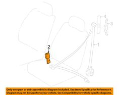 1999 toyota corolla seat belt latch