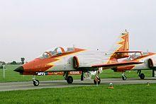 C-101EB de la Patrulla Águila.