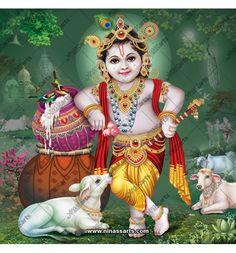 Krishna Lila, Bal Krishna, Krishna Art, Lord Krishna, Yashoda Krishna, Radhe Krishna, Radha Krishna Pictures, Krishna Images, Bridal Songs
