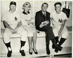 Maris, Mantle, Grant, and Day.