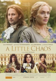 Directed by Alan Rickman. With Kate Winslet, Alan Rickman, Stanley Tucci, Matthias Schoenaerts. Two talented landscape artists become romantically entangled while building a garden in King Louis XIV's palace at Versailles. Films Hd, Hd Movies, Movies Online, Movies 2019, Kate Winslet, See Movie, Movie List, Film Movie, Alan Rickman