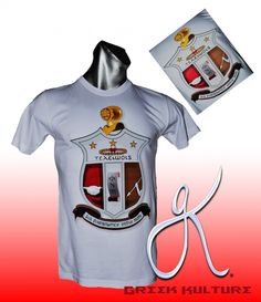 KAPPA ALPHA PSI SHIELD T-SHIRT - Greek Kulture #KappaAlphaPsi #Nupe #YoYo #KAPPA