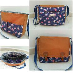 Vintage Flower Sling Bag