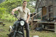 Chris Pratt from Jurassic World