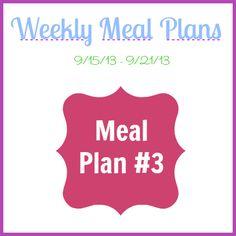 Meal Plan #3