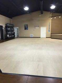 Stage floor design example by kim truka jazzercise for Flooring chesterfield mo
