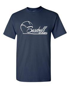 Baseball Dad Short Sleeve TShirt - Changing Seasons