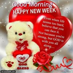 Good Morning Happy New Week monday good morning monday quotes good morning quotes happy monday have a great week monday quote happy monday quotes good morning monday monday quotes for family and friends Monday Morning Blessing, Good Morning Happy Monday, Good Morning For Him, Happy New Week, Morning Wish, Good Morning Images, Good Morning Quotes, Sunday Prayer, Morning Pictures