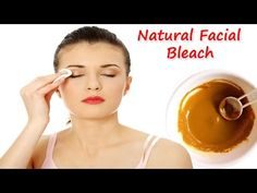 Natural facial bleach to get fair pink skin - Glowpink