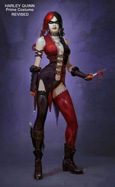 Harley Quinn Concept - Pictures & Characters Art - Injustice: Gods Among Us