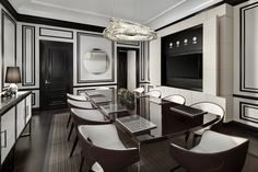 The St. Regis New York—Bentley Suite Dining Room | by St. Regis Hotels and Resorts