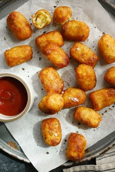 NYT Cooking: There's no need to peel the new potatoes for these otherwise labor-intensive tots, which are little short of a revelation.Serve with ketchup, of course.