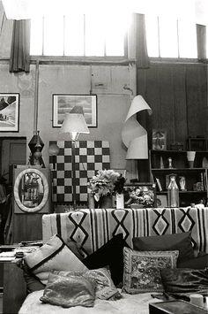 Man Ray's Atelier 2 bis rue Férou Paris c. 1985 (photo Jan Svenungsson)