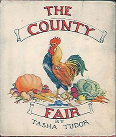 Cellar Door Books: COUNTY FAIR. Tudor, Tasha - The World of Tasha Tudor