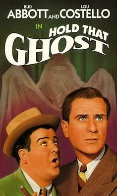 With Bud Abbott, Lou Costello, Richard Carlson, Joan Davis. After inheriting a fortune from a gangster, two dim-witted service station attendants find themselves stranded in a haunted house. Hold My Hand, Hold On, Best Movie Posters, Classic Movie Posters, Dolby Digital, Universal Studios, Ghost Online, Bud Abbott, Entertaining Movies