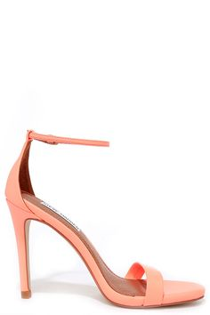 0299e6ed56d In Style Fashion Trends in Dresses   Shoes for Women. Steve Madden  StecyCoral HeelsToe BandAnkle Strap ...
