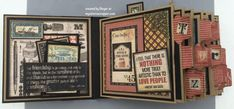 PB Mini (1) - Graphic 45: Typography - by Ginger Ropp, My Sisters Scrapper
