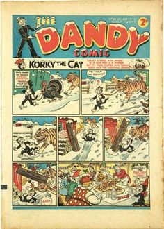 The Dandy No.108 - 23rd December 1939