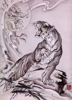 Masterful Tiger Tattoos To Make You Queen Or King Of The - Siberian Tiger Tattoo Designs For Men The Siberian Tiger Is The Most Popular Out Of The Worlds Diversity It Encompasses All The Important Skills And It Looks Awesome On A Mans Shoulder A Japanese Tiger Tattoo, Japanese Tattoo Designs, Japanese Tattoos, Japanese Tattoo Symbols, Tiger Sketch, Tiger Drawing, Body Art Tattoos, Tattoo Drawings, Sleeve Tattoos