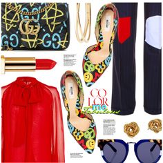 How To Wear Color Me Fabulous Outfit Idea 2017 - Fashion Trends Ready To Wear For Plus Size, Curvy Women Over 20, 30, 40, 50
