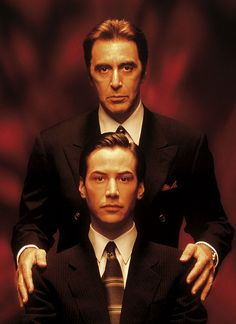 Al Pacino & Keanu Reeves for The Devil's Advocate