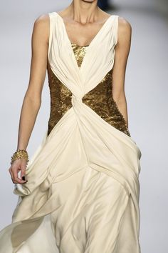 What Would Khaleesi Wear? zoesofia: Monique Lhuillier Fall 2008