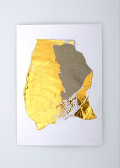 #jensmennicke #collage gold foil, lacquer on card board, 2018 Change Your Mind, Gold Foil, Art Direction, Design Art, Merry Christmas, This Is Us, Collage, Studio, Board